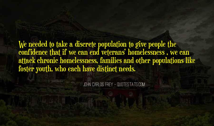 Quotes About Youth Homelessness #1552294