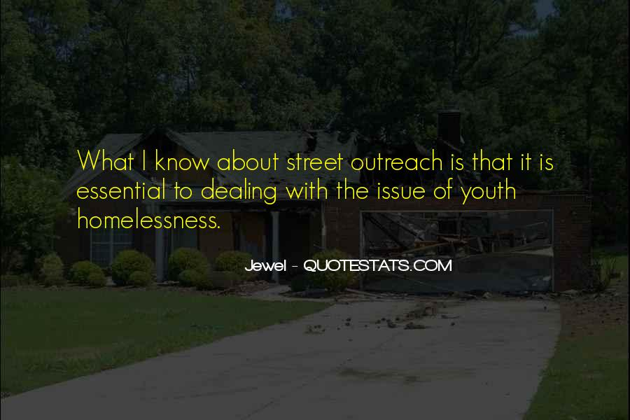 Quotes About Youth Homelessness #937640