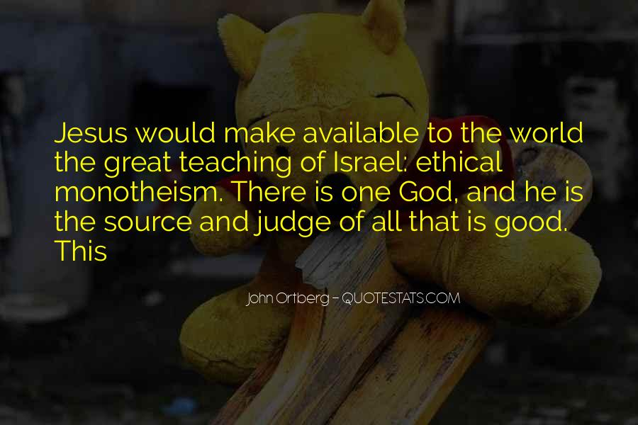 Quotes About Monotheism #1119856