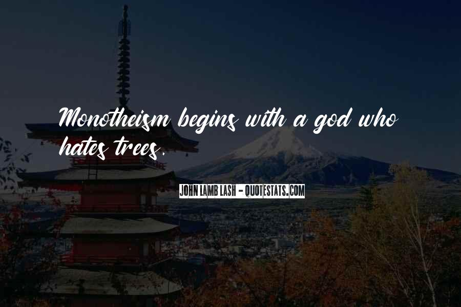 Quotes About Monotheism #1500529