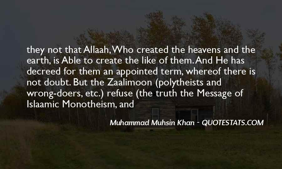 Quotes About Monotheism #1805439