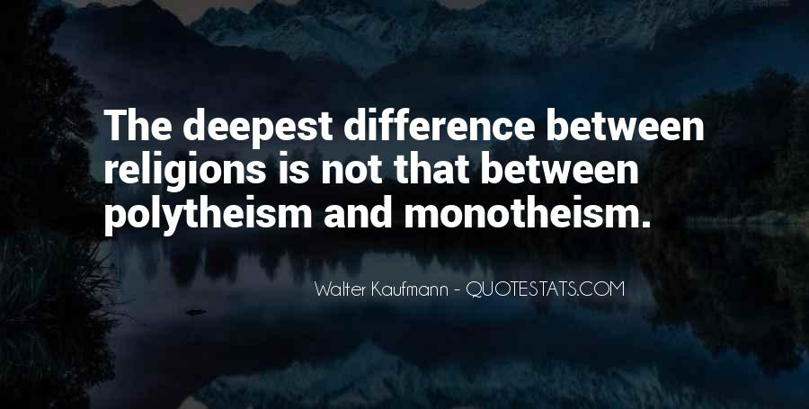 Quotes About Monotheism #1812187