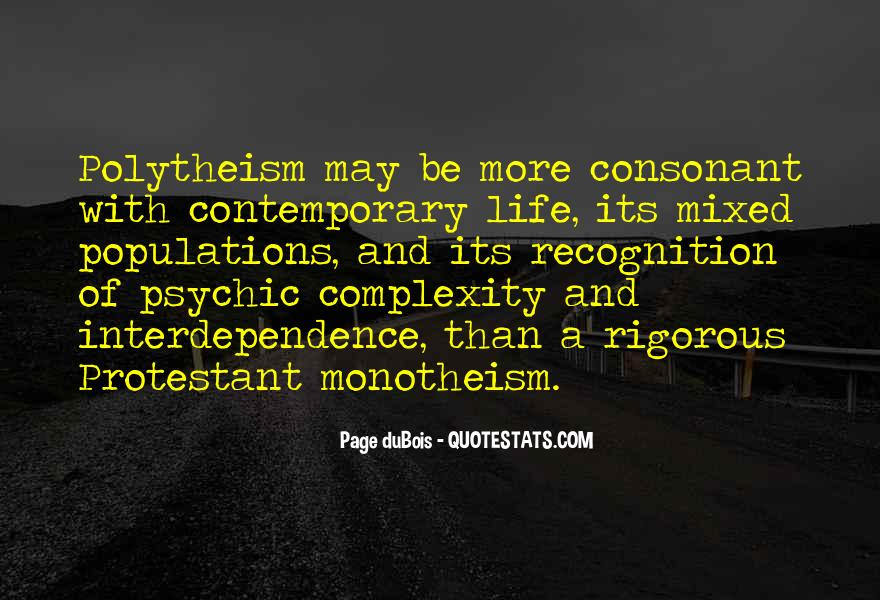 Quotes About Monotheism #1822958