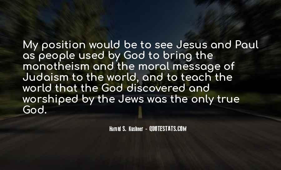 Quotes About Monotheism #246895