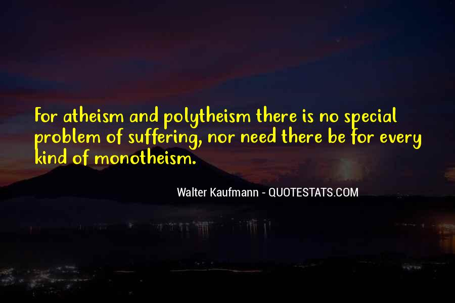 Quotes About Monotheism #553988