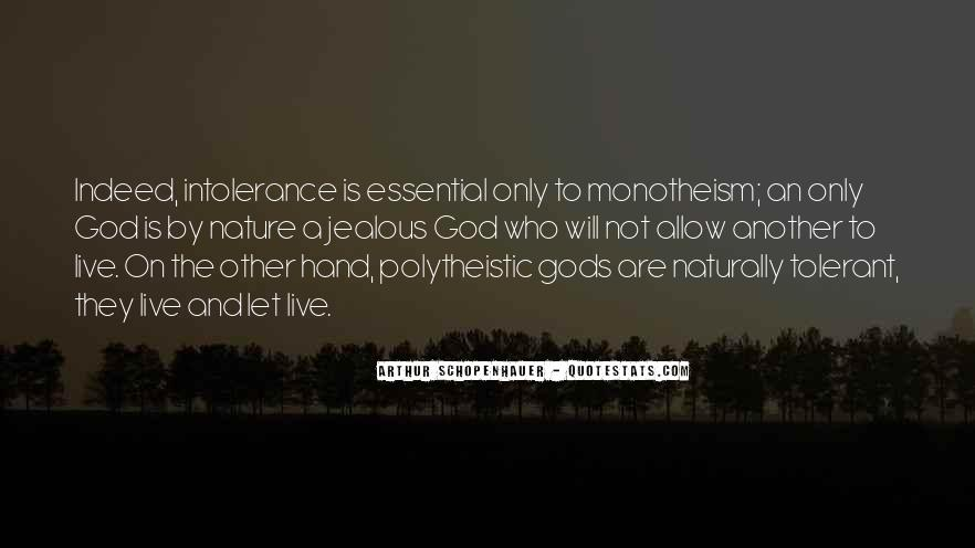 Quotes About Monotheism #700649