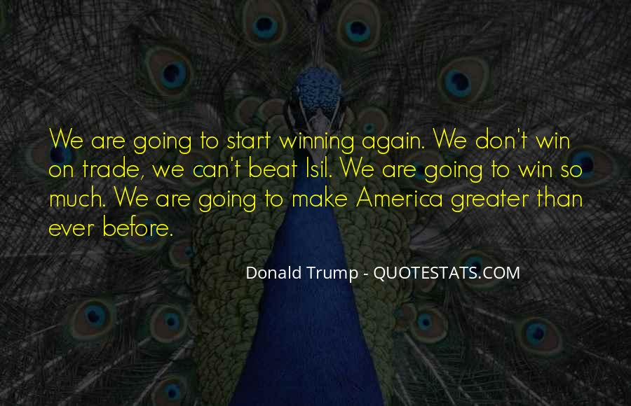 Quotes About Trump Not Winning #1047526