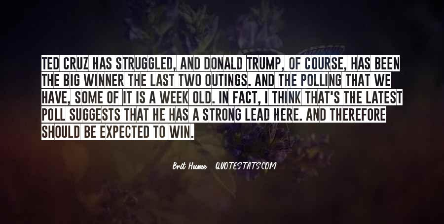 Quotes About Trump Not Winning #1605615