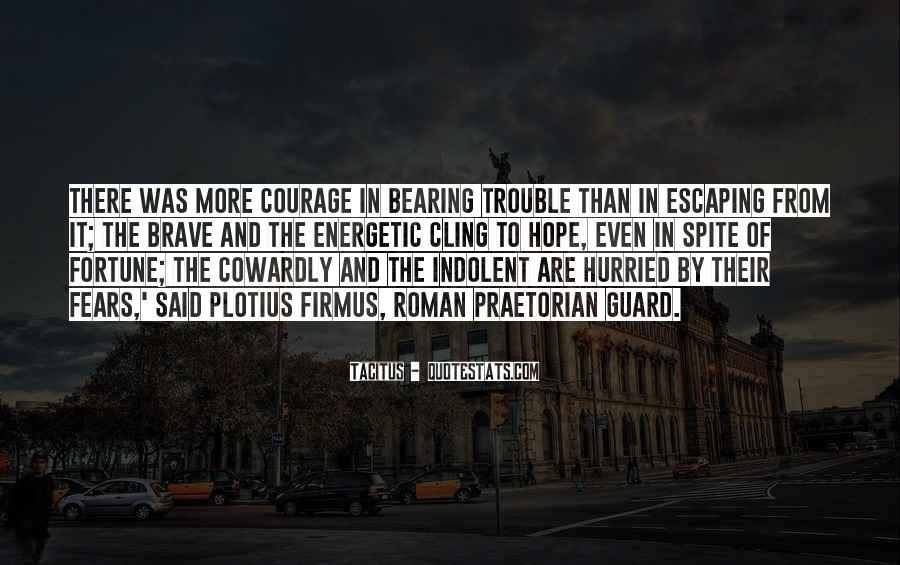 Quotes About Hope And Courage #102542