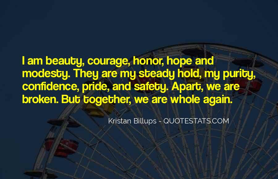 Quotes About Hope And Courage #11483