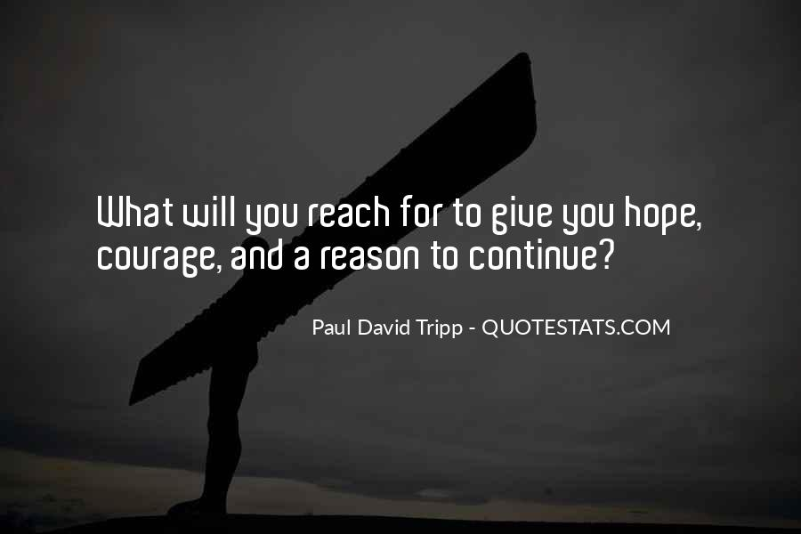 Quotes About Hope And Courage #151320