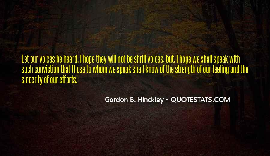 Quotes About Hope And Courage #34717