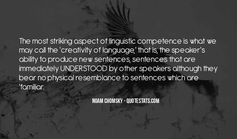 Quotes About Language Competence #797940