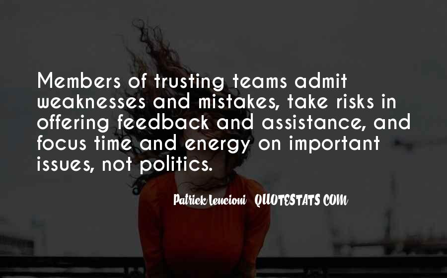 Quotes About Trusting Your Team #1250333