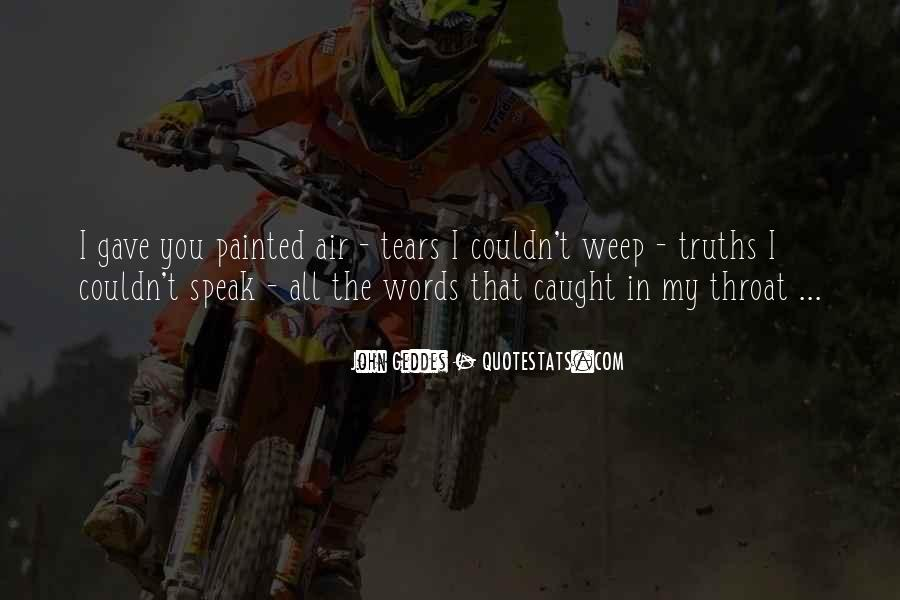 Quotes About Unspoken Words #1098789