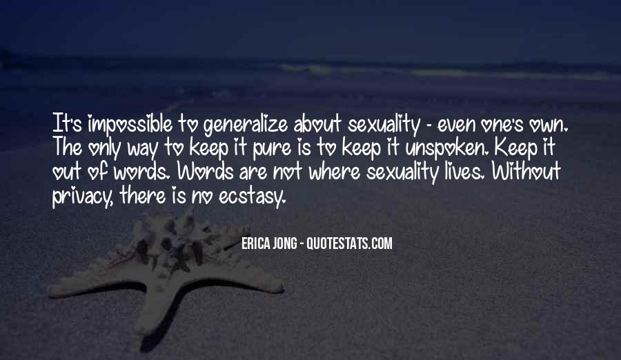 Quotes About Unspoken Words #1242209
