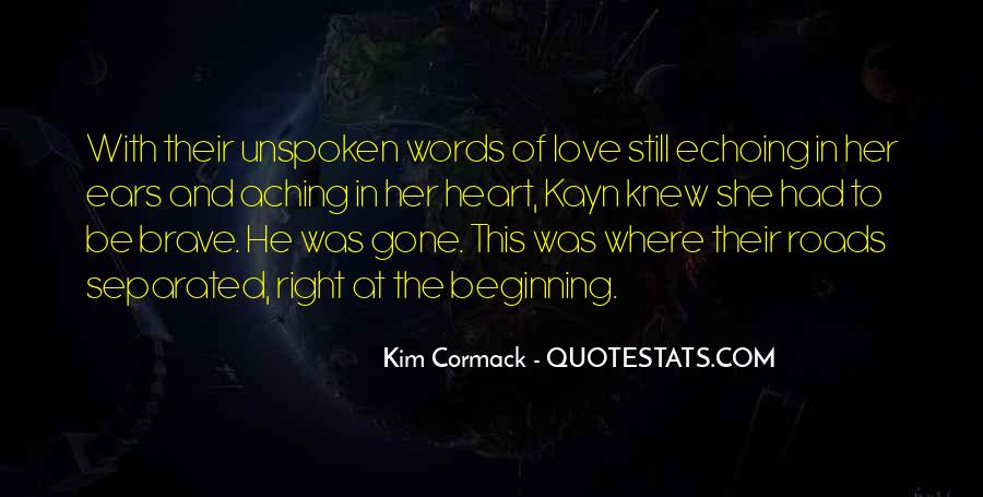 Quotes About Unspoken Words #223790