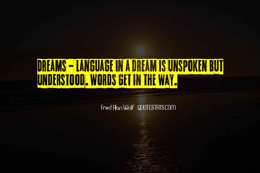 Quotes About Unspoken Words #661114