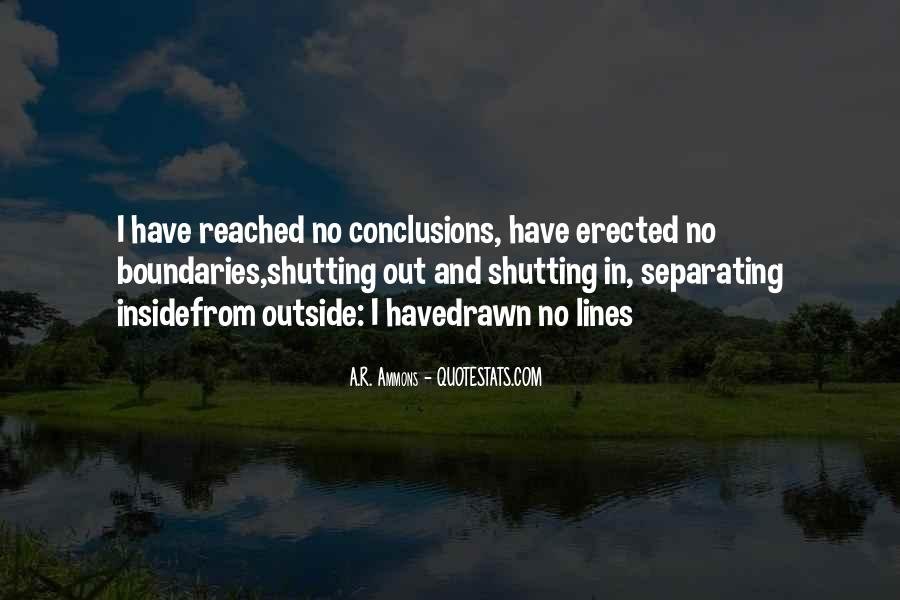 Quotes About Shutting Out #1761469