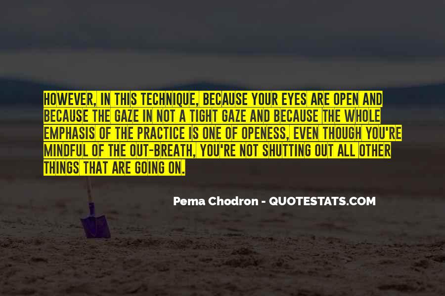 Quotes About Shutting Out #95362