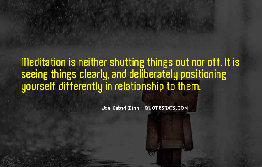 Quotes About Shutting Out #95888