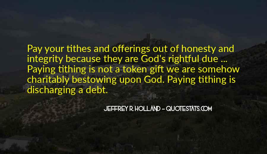 Quotes About Tithes #996169