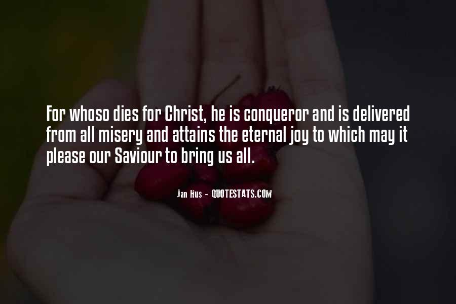 Quotes About Our Saviour #1089328
