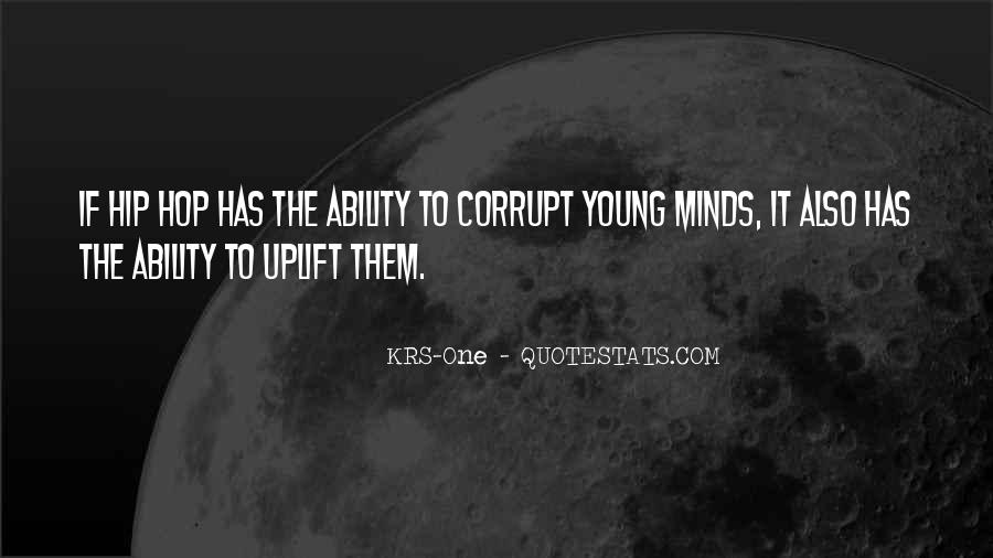 Quotes About Young Minds #1042951
