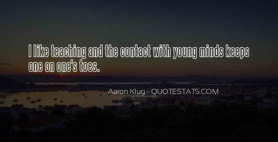 Quotes About Young Minds #1698755