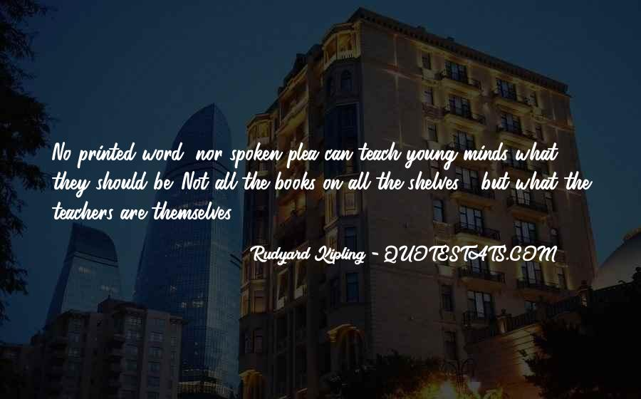 Quotes About Young Minds #1700889