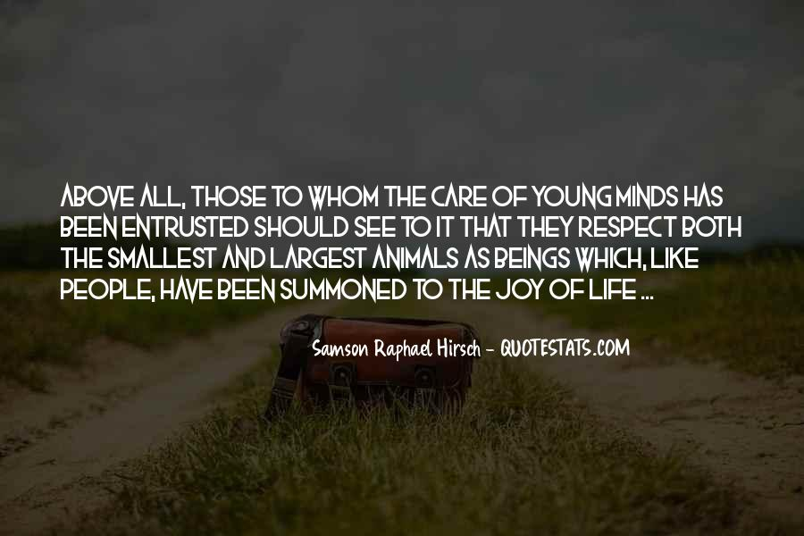 Quotes About Young Minds #279397