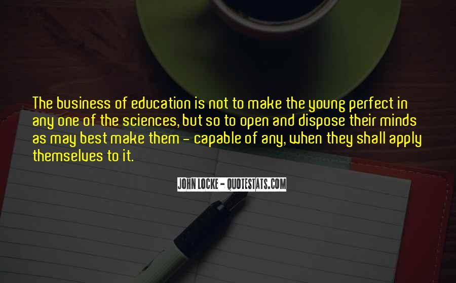 Quotes About Young Minds #549178