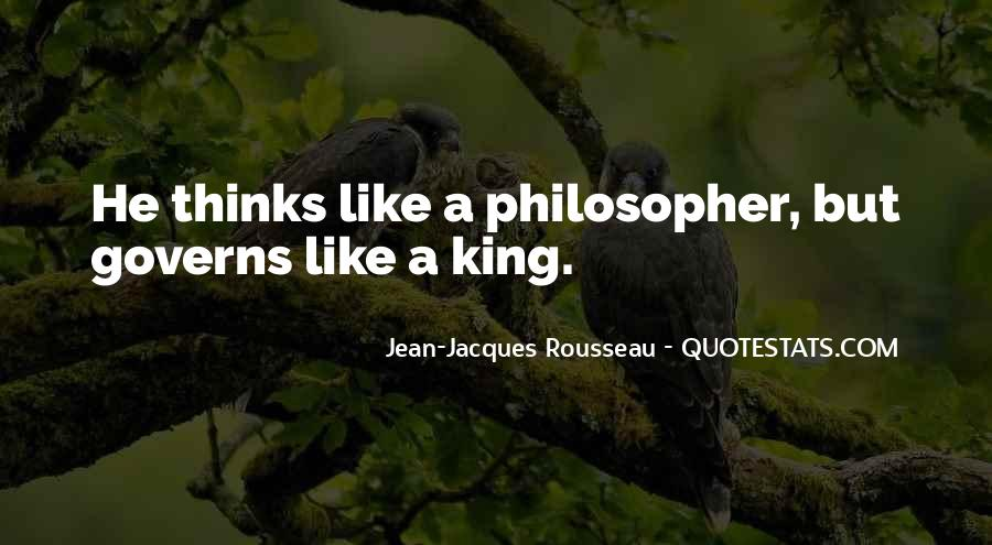 Quotes About Philosopher King #1147450