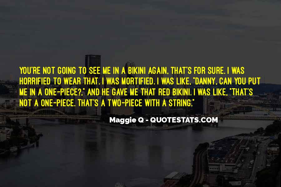 Quotes About Maggie #44747