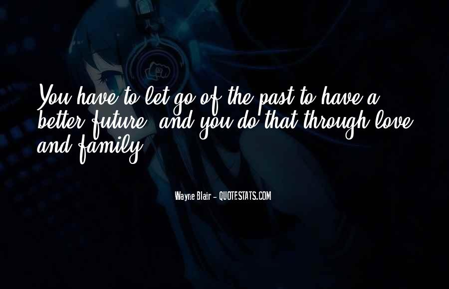 Quotes About The Future And Letting Go Of The Past #1267184