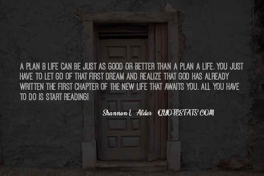 Quotes About The Future And Letting Go Of The Past #164710