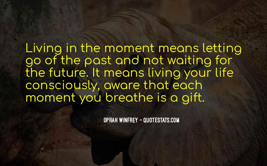 Quotes About The Future And Letting Go Of The Past #321327
