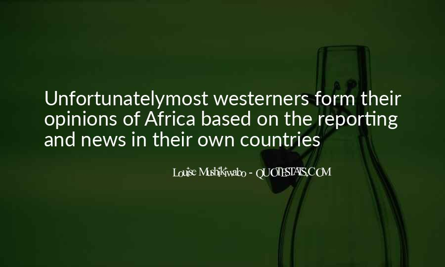 Quotes About News Reporting #1192880