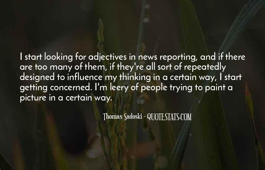 Quotes About News Reporting #1273094