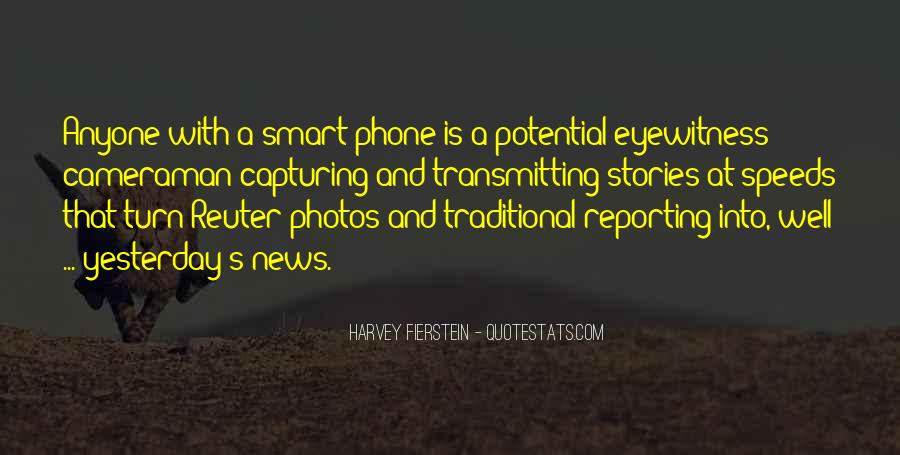 Quotes About News Reporting #1593497