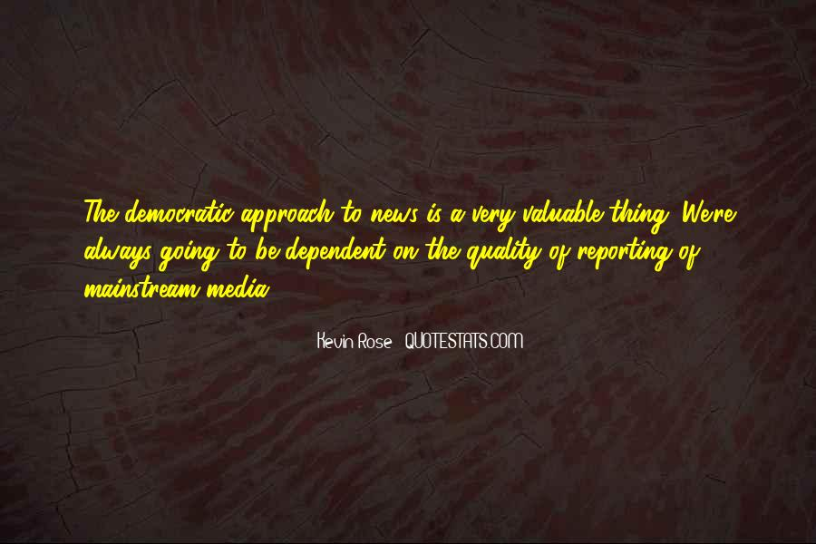 Quotes About News Reporting #1653203