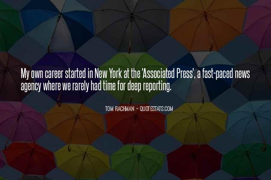 Quotes About News Reporting #1721270