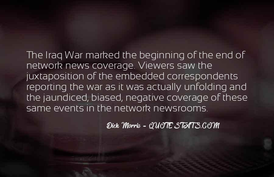 Quotes About News Reporting #1833334