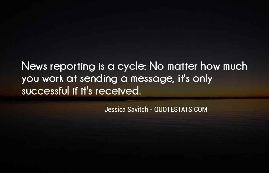 Quotes About News Reporting #1863180