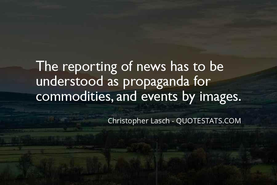 Quotes About News Reporting #291488