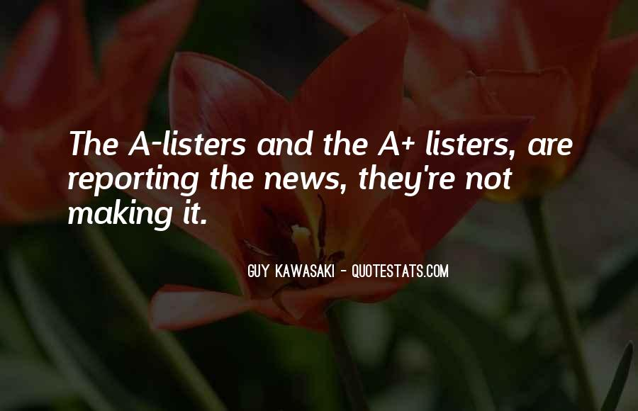 Quotes About News Reporting #482682