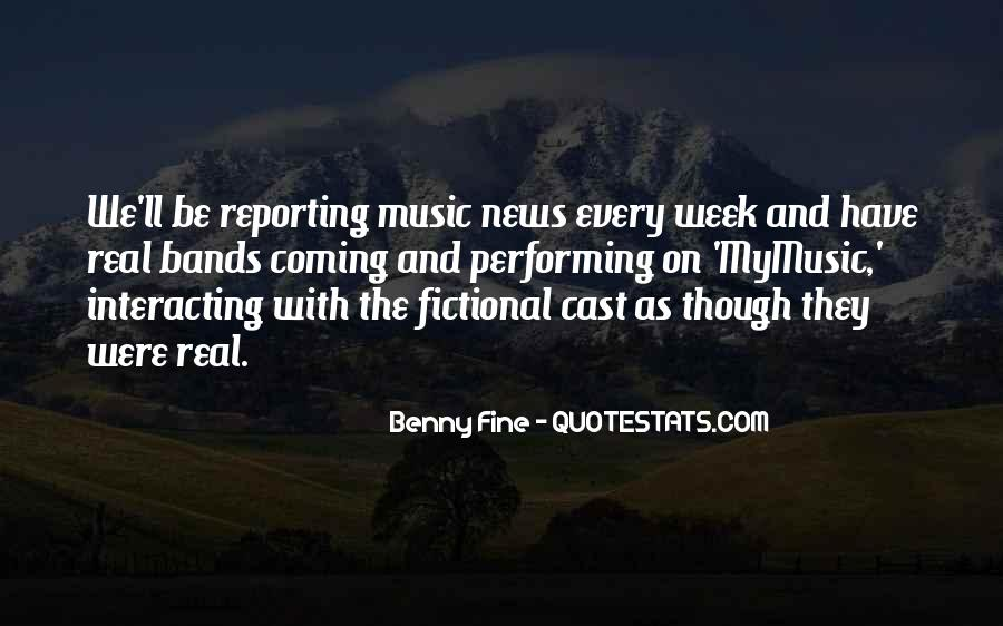 Quotes About News Reporting #972372