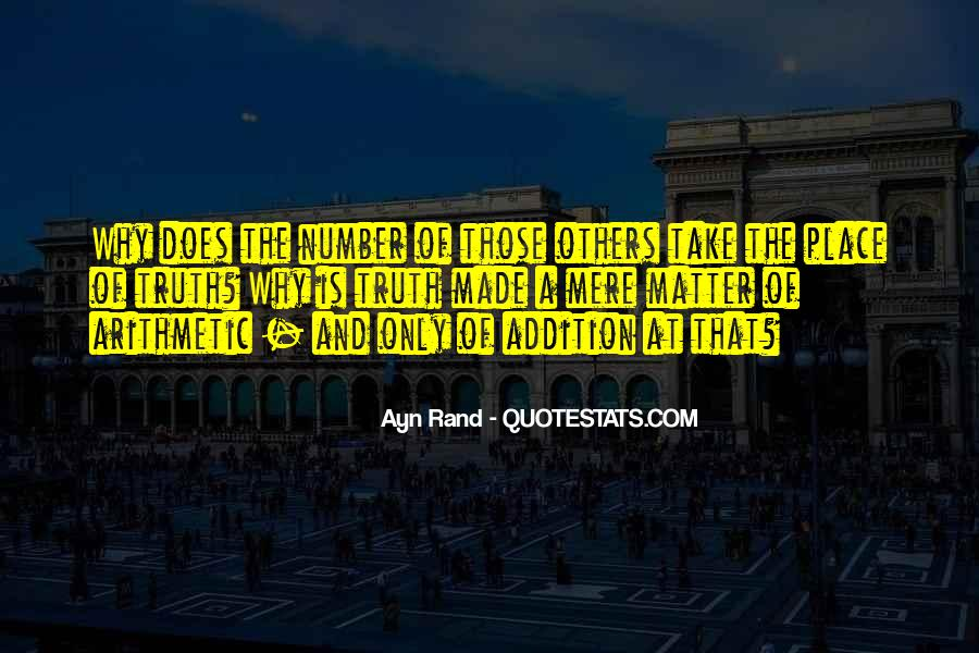 Quotes About Addition #165131