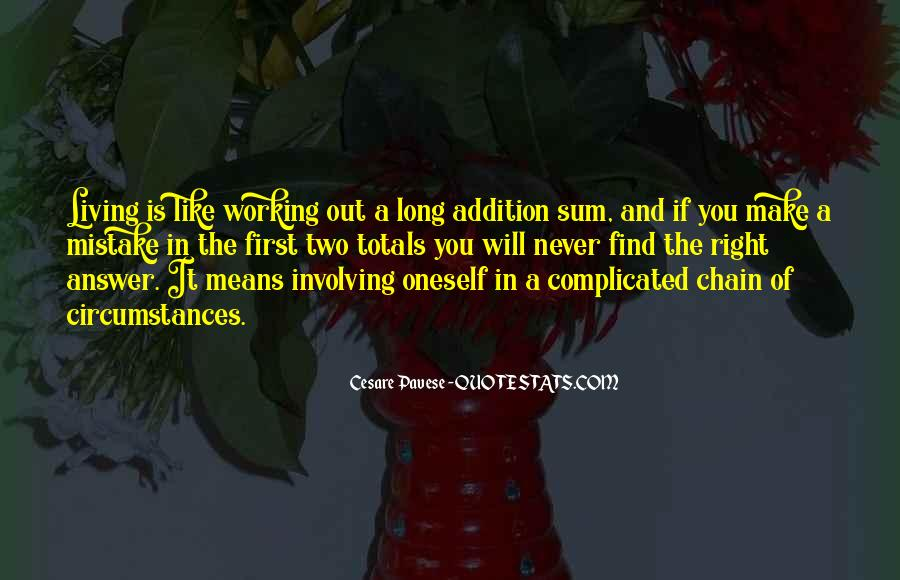 Quotes About Addition #223813