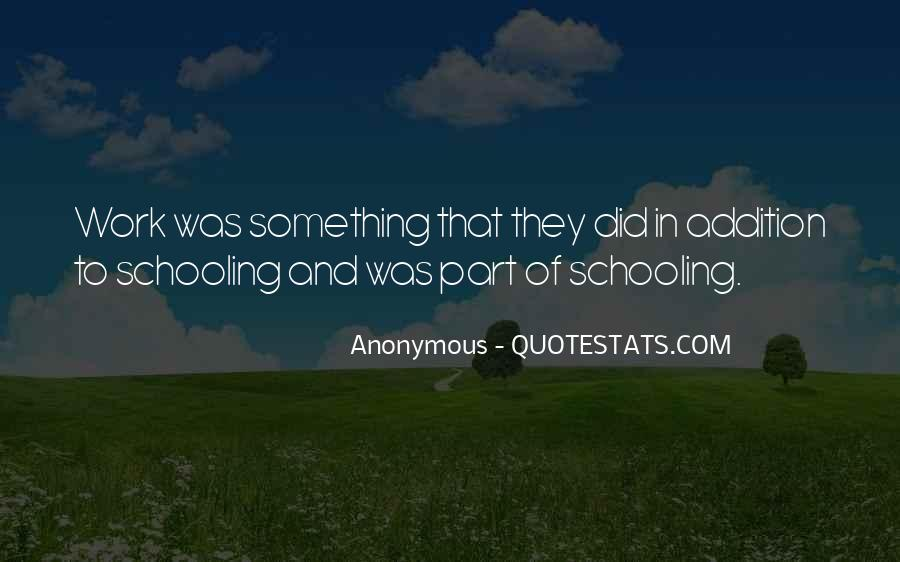 Quotes About Addition #79718